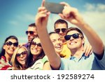 summer  holidays  vacation and... | Shutterstock . vector #192589274