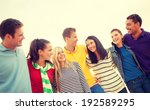 summer  holidays  vacation and... | Shutterstock . vector #192589295