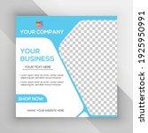 social media post vector... | Shutterstock .eps vector #1925950991