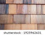 Background Of Cedar Shingle Wall