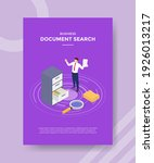 document search concept for... | Shutterstock .eps vector #1926013217
