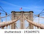 Brooklyn Bridge Over East Rive...