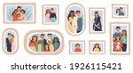 vector family photo frames.... | Shutterstock .eps vector #1926115421