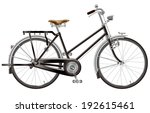 practical bicycle  | Shutterstock . vector #192615461