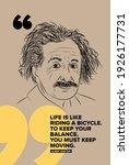 Albert Einstein Vector Sketch...