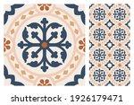 set of patterned azulejo floor... | Shutterstock .eps vector #1926179471