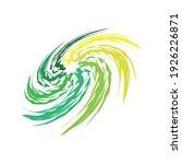 swing circle logo design eps | Shutterstock .eps vector #1926226871
