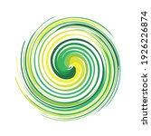 swing circle logo design eps | Shutterstock .eps vector #1926226874