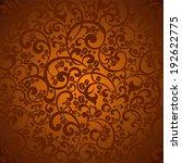 coffee background. vector...   Shutterstock .eps vector #192622775