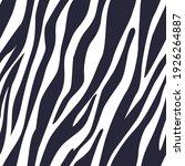 zebra skin pattern. seamless... | Shutterstock .eps vector #1926264887