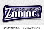 vector logo for zodiac ... | Shutterstock .eps vector #1926269141