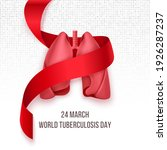 world tuberculosis day march 24.... | Shutterstock .eps vector #1926287237