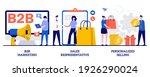 b2b marketing  sales... | Shutterstock .eps vector #1926290024