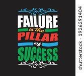 failure is the pillar of...   Shutterstock .eps vector #1926291404