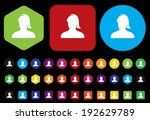 icon avatar | Shutterstock .eps vector #192629789