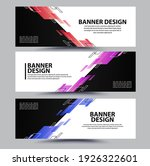 abstract banner background... | Shutterstock .eps vector #1926322601