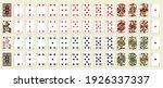 release 1885. poker set with... | Shutterstock .eps vector #1926337337