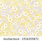 seamless floral background with ...   Shutterstock .eps vector #1926355871