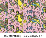 ancient sumerian civilization.... | Shutterstock .eps vector #1926360767