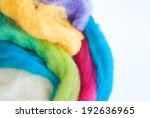 colorful wool | Shutterstock . vector #192636965