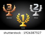 gold  silver  bronze awards for ...