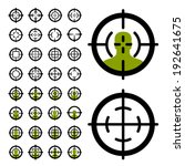 vector gun crosshair sight...   Shutterstock .eps vector #192641675