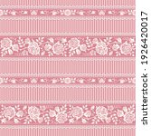 vector vintage floral... | Shutterstock .eps vector #1926420017
