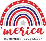 4th of july vector design ... | Shutterstock .eps vector #1926421187