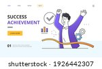 success and achievement concept ...   Shutterstock .eps vector #1926442307