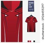 fabric textile design for sport ... | Shutterstock .eps vector #1926455297