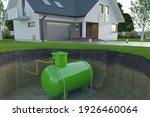Underground Gas Tank  3d...