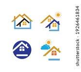 creative house set logo vector... | Shutterstock .eps vector #1926461834