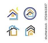 creative house set logo vector... | Shutterstock .eps vector #1926461837