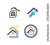 creative house set logo vector... | Shutterstock .eps vector #1926461864