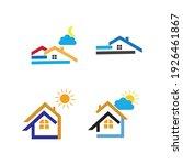 creative house set logo vector... | Shutterstock .eps vector #1926461867