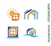 creative house set logo vector... | Shutterstock .eps vector #1926461894
