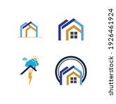 creative house set logo vector... | Shutterstock .eps vector #1926461924