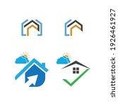 creative house set logo vector... | Shutterstock .eps vector #1926461927