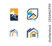 creative house set logo vector... | Shutterstock .eps vector #1926461954