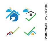 creative house set logo vector... | Shutterstock .eps vector #1926461981