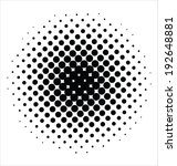 abstract halftone   Shutterstock .eps vector #192648881