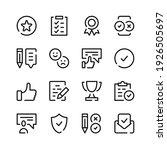 customer satisfaction icons.... | Shutterstock .eps vector #1926505697