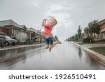 Cute Adorable Girl Running...