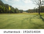 Background Of Evening Golf...