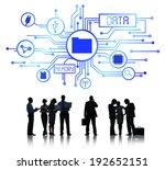 business database   Shutterstock . vector #192652151