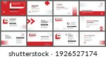 presentation and slide layout... | Shutterstock .eps vector #1926527174