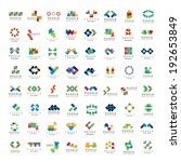 puzzle icons set   isolated on... | Shutterstock .eps vector #192653849