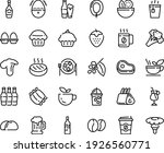 food line icon set   salad ... | Shutterstock .eps vector #1926560771
