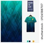 fabric pattern design. mosaic... | Shutterstock .eps vector #1926588707