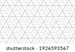 the geometric pattern with... | Shutterstock .eps vector #1926593567
